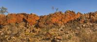 Exceptional rock formations on the escarpment on the Larapinta Trail | Peter Walton
