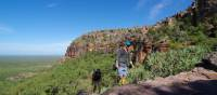 Trekking in to the stone country on the Nourlangie Massif, Kakadu | Rhys Clarke