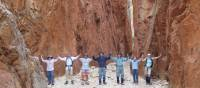 A team photo on the Larapinta Trail | Latonia Crockett