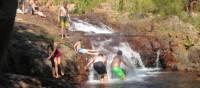 Family fun in the Top End waterholes   Kate Baker