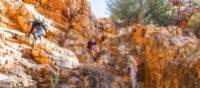 Magnificent rock formations along the Larapinta Trail   Gavin Yeates
