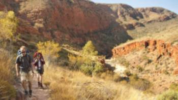 The Larapinta trail, known as one of Australia's best hikes | Paddy Pallin