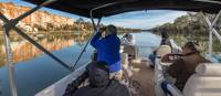 A relaxing boat cruise along the Murray River