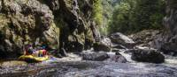 Rafting through the World Heritage wilderness along the Franklin River | Justin Walker/Outside Media