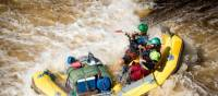 Guides rafting wilder waters on the Franklin River | Glenn Walker