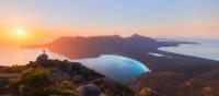 Vibrant sunrise at Wineglass Bay | Daniel Tran