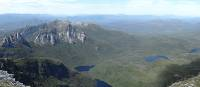 The stunning panoramic view from Frenchmans Cap | Tourism Tasmania & Nicholas Tomlin