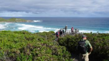 Stunning water views along the Walpole to Denmark section of the Bibbulmun Track