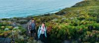 Coastal views walking near Contos Beach
