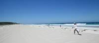 Cleaning marine debris off Deepdene Beach along West Australia's coastline